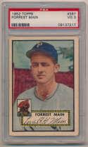 1952 Topps 397 Main PSA 3