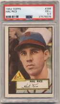 1952 Topps 398 Hal Rice PSA 5.5