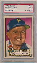 1952 Topps 381 Stock PSA 3