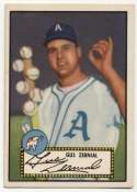 1952 Topps 31 Zernial Baseballs VG-Ex/Ex