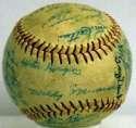 1952 White Sox  Team Ball 8