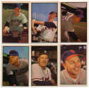 1953 Bowman Color  12 different commons VG-Ex
