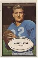 1953 Bowman 21 Bobby Layne VG-Ex/Ex