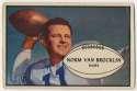 1953 Bowman 11 Norm Van Brocklin Good