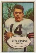 1953 Bowman 26 Otto Graham Good