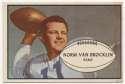 1953 Bowman 11 Norm Van Brocklin VG-Ex/Ex