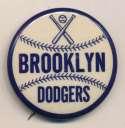 1953 Pin  1950s Brooklyn Dodgers 1 3/4 Inch Pin NM