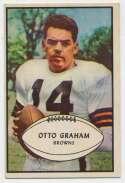 1953 Bowman 26 Otto Graham Ex