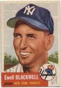 1953 Topps 31 Blackwell Ex-Mt+