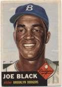 1953 Topps 81 Black Ex+