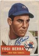 1953 Topps 104 Berra 9.5