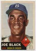 1953 Topps 81 Black Ex