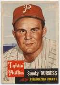 1953 Topps 10 Burgess Ex-Mt