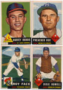 1953 Topps  46 different high #s w/many SPs VG-Ex