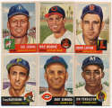 1953 Topps  105 different commons VG-Ex