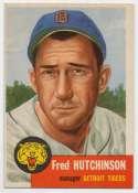 1953 Topps 72 Hutchinson Ex