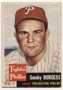 1953 Topps 10 Burgess VG-Ex/Ex
