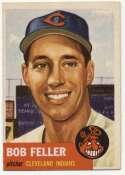 1953 Topps 54 Feller Ex-Mt