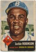 1953 Topps 1 J Robinson Good