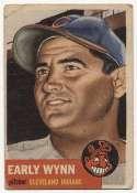 1953 Topps 61 Wynn Good