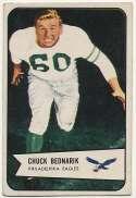 1954 Bowman 57 Chuck Bednarik  VG-Ex