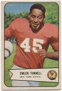 1954 Bowman 102 Emlen Tunnell Ex++