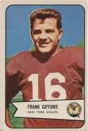 1954 Bowman 55 Frank Gifford VG-Ex/Ex