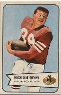 1954 Bowman 54 Hugh McElhenny Ex