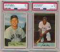 1954 Bowman  Complete Set Minus Ted Williams VG-Ex/Ex