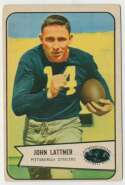 1954 Bowman 128 John Lattner RC VG