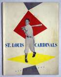 1954 Yearbook  St Louis Cardinals VG-Ex/Ex