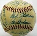 1954 Red Sox  Team Ball 8.5 JSA LOA