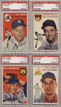 1954 Topps  Collection of 30 Different Graded Commons SMR $512