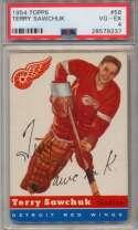 1954 Topps 58 Terry Sawchuk PSA 4
