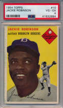 1954 Topps 10 Robinson PSA 4