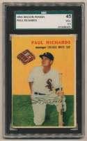 1954 Wilson Weiners  Richards, Paul SGC 3.5