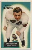 1955 Bowman 2 Mike McCormack RC NM