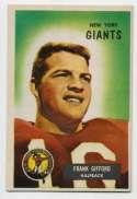 1955 Bowman 7 Frank Gifford Ex-Mt