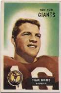 1955 Bowman 7 Frank Gifford VG-Ex/Ex