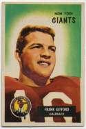 1955 Bowman 7 Frank Gifford Ex++