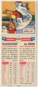 1953 Bowman 11 Norm Van Brocklin PSA 7