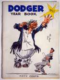 Program  1955 Dodgers Yearbook w/Jackie Robinson & 7 Others 9 JSA LOA (FULL)