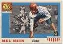 1955 All American 28 Mel Hein 9