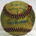 1955 Kansas City As  Team Ball 4