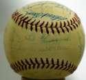 1955 NL All Stars  Team Ball 8 JSA LOA