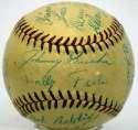 1955 Montreal Royals  Team Ball 8