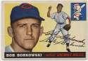 1955 Topps 74 Bob Borkowski 9.5