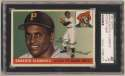 1955 Topps 164 Clemente RC SGC 3 (well ctd)