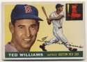 1955 Topps 2 Ted Williams VG+ Ctd