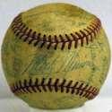 1955 White Sox  Team Ball 4